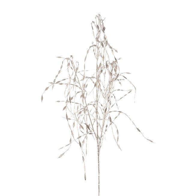 Leaf Twig, 120 cm,Silver