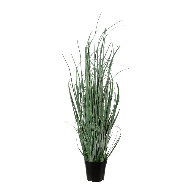 Grass bush iced, 75 cm