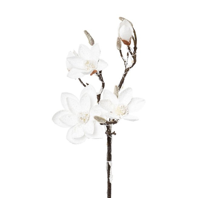 Magnolia Snow-Covered, 13 Led,92 cm