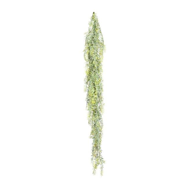 Fern Leaf Hanger ca. 150 cm,Green, Plastic