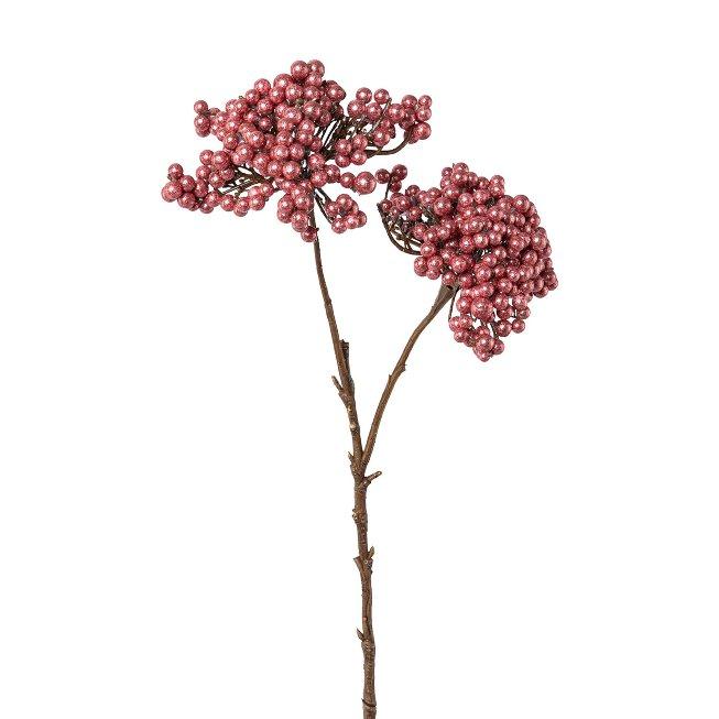 Berry Cone Branch, Brilliant, 48 cm, Dark Pink