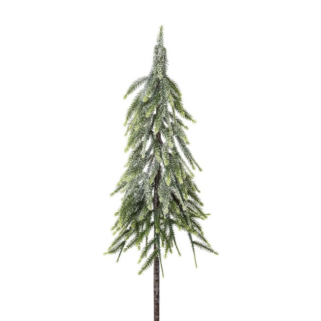 Spruce Trunk On Stick, 97 cm,Snow