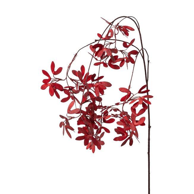 Maple branch, 115 cm, dark red