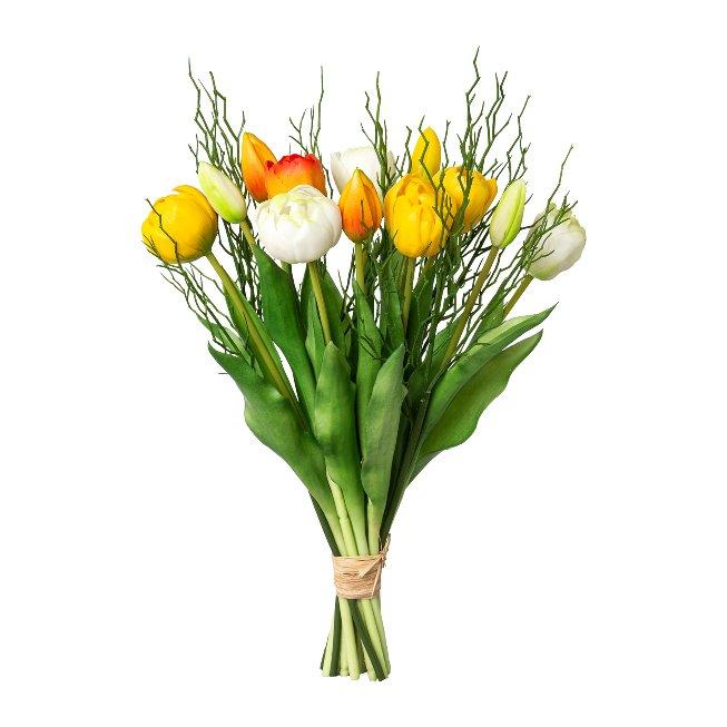 Bund 12 gef?llte Tulpen mit 4 Zweigen