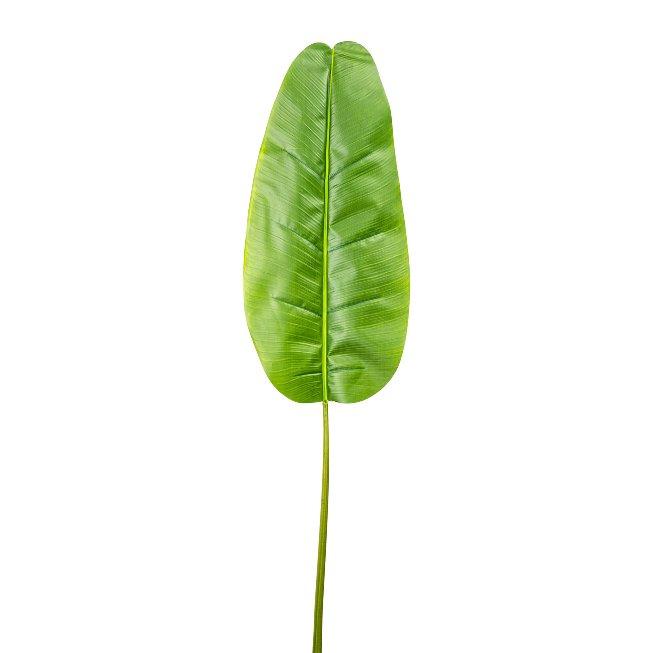 Banana Leaf 72x34 cm, Total,144 cm, Plastic, Green