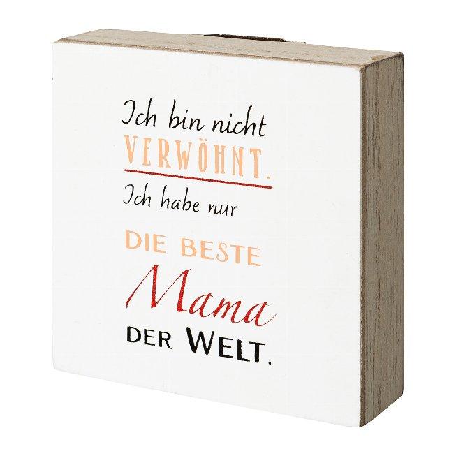 Holz Deko Tafel/H?nger MAMA