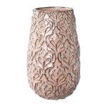 #Keramik Vase RELIEF ORNAMENT