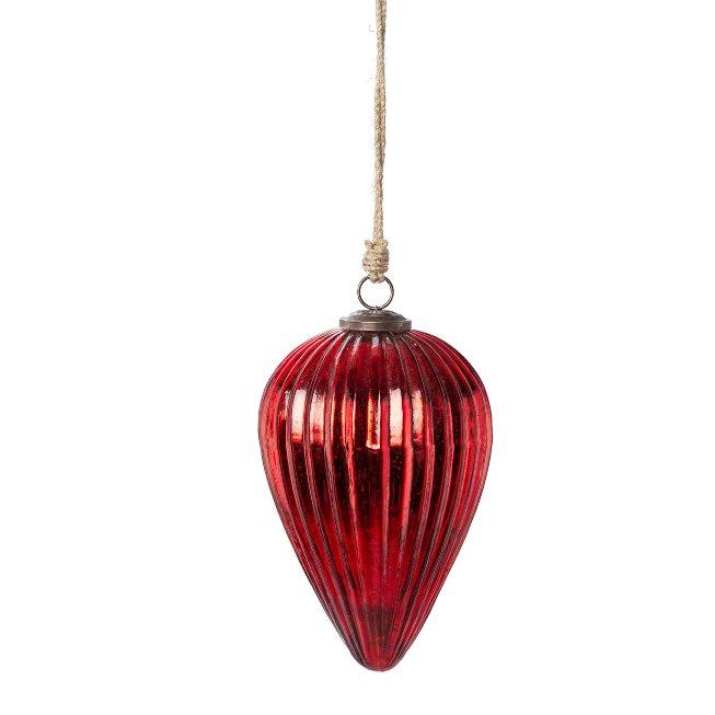 Glass Hanger Line Spigot,25x17x17 cm, Red