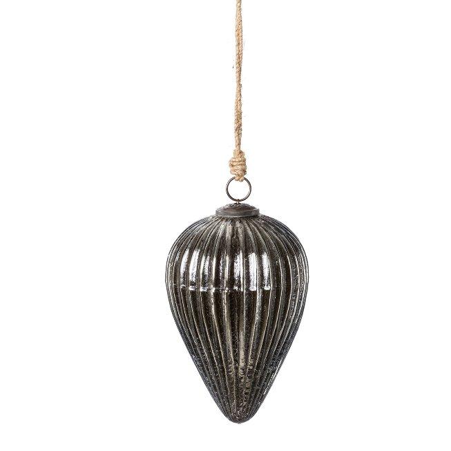 Glass Hanger Line Spigot,25x17x17 cm, Black Silver