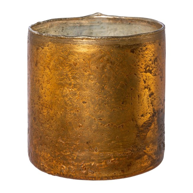 Glas Windlicht Zylinder ROCCA