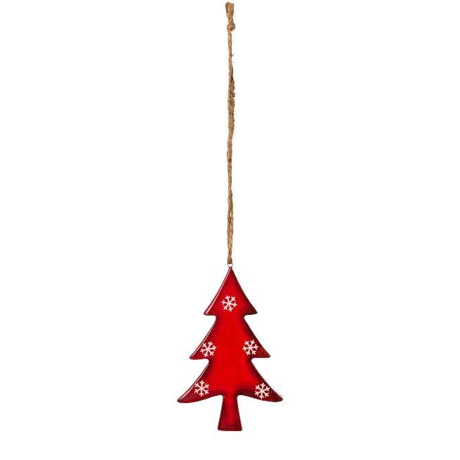 Keramik Baum H?nger RED