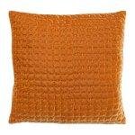Velvet cushion, 45x45cm, mustarddark