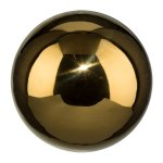 Stainless Steel Ball, 10 cm,Gold