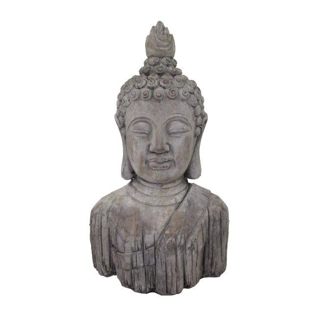 Cement Buddha Kopf